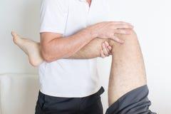 Нога обслуживаний ортодонтов Стоковые Изображения RF