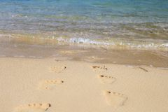 нога прогулка моря Справочная информация стоковое фото rf