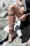 нога сексуальная Стоковое Изображение RF