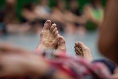 Нога танцора стоковое изображение rf