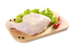 нога цыпленка сырцовая Стоковая Фотография RF
