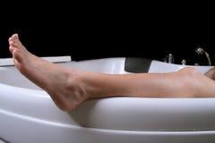 нога Стоковое Изображение