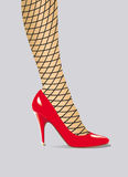 нога Стоковое фото RF
