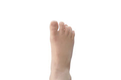 Нога ` s ребенка Стоковое фото RF