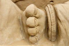 Нога - Sandart Стоковые Изображения RF