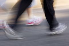 ноги бежать Стоковые Изображения RF
