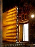 Ноги большого золотого Будды в Бангкоке Стоковое Изображение RF