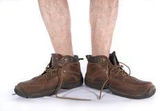 ноги ботинок Стоковое Фото