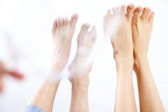 Ноги валентинок Стоковые Фото