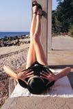ноги вверх Стоковая Фотография RF