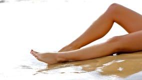 ноги влажные Стоковое фото RF