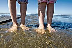 ноги влажные Стоковые Изображения