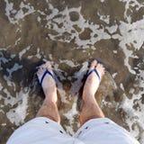 Ноги внутри Стоковое Изображение RF