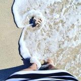 ноги воды Стоковое Изображение RF
