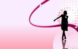 ноги девушки скрещивания Стоковая Фотография RF