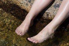 ноги девушки Стоковая Фотография RF