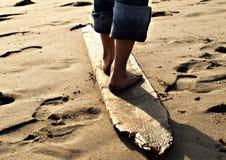 ноги доски Стоковые Изображения