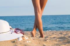 Ноги девушки, Bodyparts Стоковая Фотография RF
