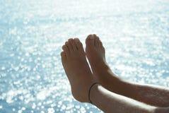 Ноги лета Стоковое Изображение