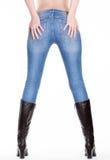 Ноги женщины подпирают взгляд Стоковое Фото