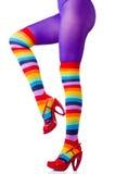 Ноги женщины Стоковые Фотографии RF