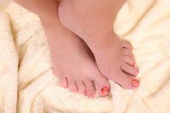 ноги женщины s Стоковые Фото