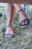 Ноги женщин Стоковые Изображения