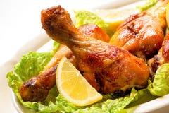 ноги зажженные цыпленком Стоковое Изображение RF