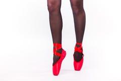 Ноги закрывают вверх балерины Стоковые Фотографии RF