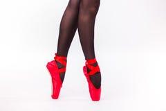 Ноги закрывают вверх балерины Стоковые Изображения