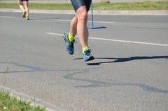 Ноги запачканные движением Стоковые Изображения