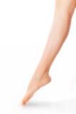 ноги изолированного обнажённого Стоковая Фотография RF
