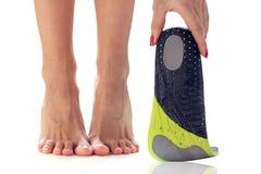 Ноги и протезные insoles Стоковые Изображения RF