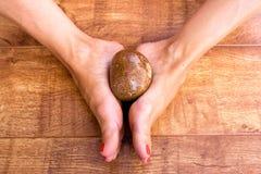 ноги камня Стоковое Изображение RF