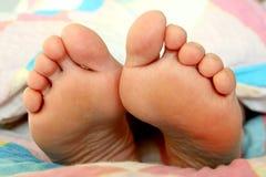 ноги кровати Стоковые Изображения RF