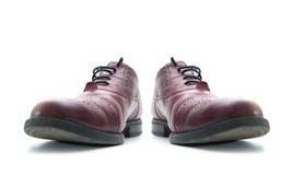 ноги крупного плана предпосылки различные кренят высокие изолированные спорты тапок ботинок красного цвета ног 2 нося женщины бел Стоковые Фотографии RF