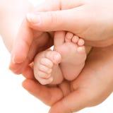 ноги младенца стоковое изображение rf