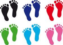 ноги младенца Стоковая Фотография