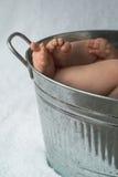 ноги младенца Стоковое фото RF