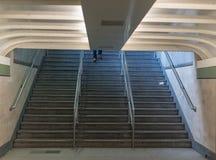 Ноги на лестницах Стоковое Изображение RF
