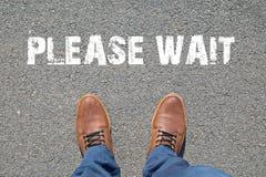 Ноги на улице Стоковое Изображение RF
