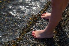 ноги немногая Стоковые Изображения