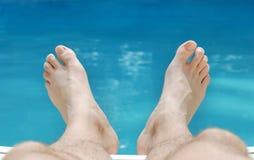 ноги ослабляя лето Стоковая Фотография