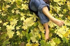 ноги отдыхать Стоковые Фото