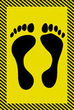 ноги плаката Стоковое Изображение