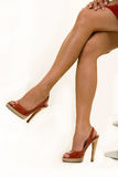 ноги сексуальные Стоковое Изображение