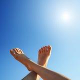 ноги солнца Стоковая Фотография RF