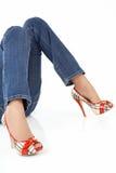 ноги супер стоковая фотография