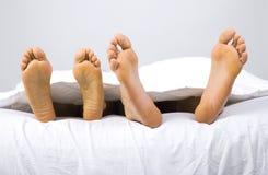 ноги счастливые Стоковая Фотография RF