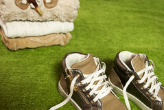 ноги счастливые Стоковые Фото